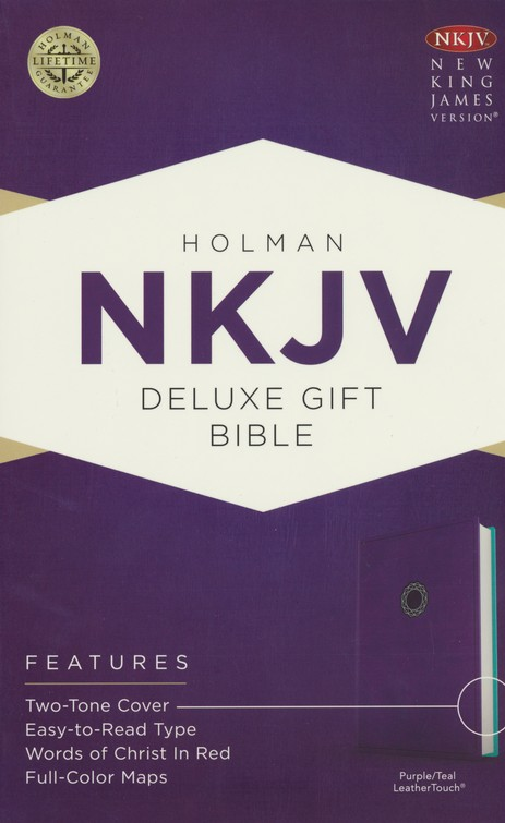 NKJV Deluxe Gift Bible Image
