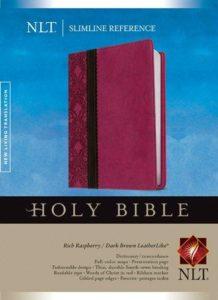 NLT Slimline Reference Holy Bible Image