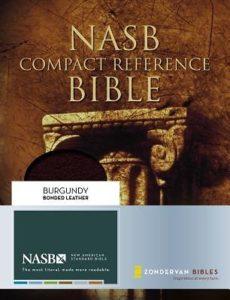 NASB Compact Reference Bible Image