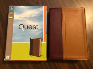 NIV Quest Study Bible Image