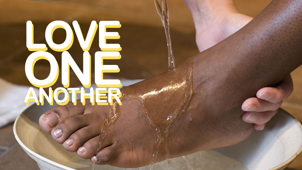 Through Love Serve One Another Image