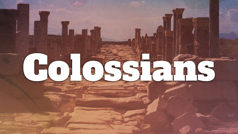Colossians- Discipleship & Evangelism Image