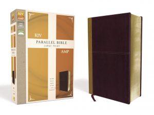 NKJV Amplified Large Print Parallel Bible Image